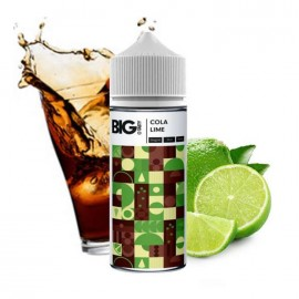 The Big Tasty Cola Lime 120ml